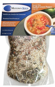 Buscia's Stuffed Green Pepper Soup mix--could there be a better way to warm a winter day?